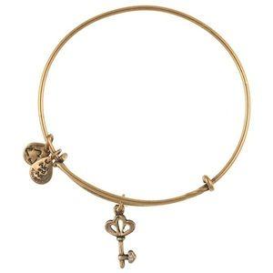Alex and Ani Key Charm bracelet